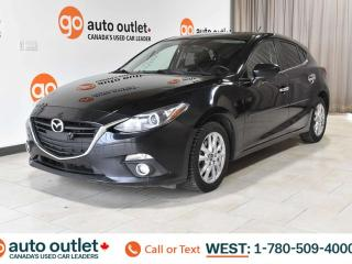 Used 2014 Mazda MAZDA3 FWD, POWER WINDOWS, STEERING WHEEL CONTROLS, CRUISE CONTROL, A/C, HANDSFREE/BLUETOOTH, AM/FM RADIO, SATELLITE RADIO, NAVIGATION, BACKUP CAMERA, for sale in Edmonton, AB