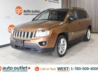 Used 2011 Jeep Compass 4WD, POWER WINDOWS, STEERING WHEEL CONTROLS, CRUISE CONTROL, A/C, HEATED FRONT SEATS, AM/FM RADIO, SATELLITE RADIO, SUNROOF for sale in Edmonton, AB