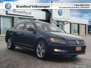 Used 2015 Volkswagen Passat Highline 2.0 TDI 6sp DSG at w/ Tip for sale in Brantford, ON