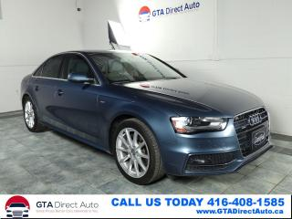Used 2015 Audi A4 Progressiv Plus S-Line Quattro Nav Sun Certified for sale in Toronto, ON