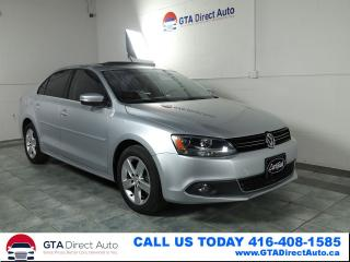 Used 2011 Volkswagen Jetta HIGHLINE TDI Nav Sunroof Leather Heated Certified for sale in Toronto, ON