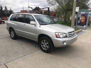 Used 2006 Toyota Highlander LIMITED,AWD,LEATHER,SAFETY+3YEARS WARRANTY INCLUDE for sale in Toronto, ON