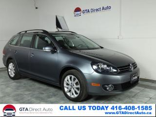 Used 2013 Volkswagen Golf Wagon COMFORTLINE TDI DSG Alloys Bluetooth Certified for sale in Toronto, ON