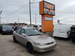 Used 1999 Toyota Corolla CE**AUTOMATIC**GREAT ON FUEL**AS IS SPECIAL for sale in London, ON