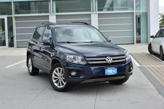 Used 2015 Volkswagen Tiguan Comfortline 6sp at Tip 4M for sale in Burnaby, BC