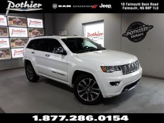 Used 2018 Jeep Grand Cherokee Overland | LEATHER | 8.4 TOUCHSCREEN | REAR CAMERA for sale in Falmouth, NS
