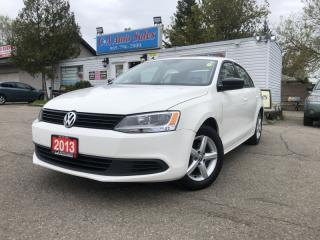 Used 2013 Volkswagen Jetta Sedan 4dr 2.0L Man Trendline, no accidents, heated seats, for sale in Brampton, ON