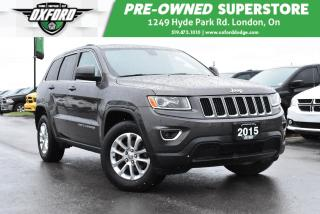 Used 2015 Jeep Grand Cherokee Laredo - Tinted Windows, Sunroof, Heated Seats for sale in London, ON