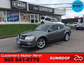 Used 2013 Dodge Avenger SXT  SUNRROOF ALLOYS SPOILER for sale in St. Catharines, ON