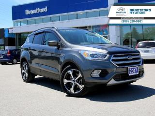 Used 2017 Ford Escape SE  - Bluetooth -  Heated Seats - $140.07 B/W for sale in Brantford, ON