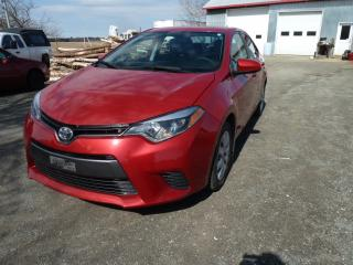 Used 2016 Toyota Corolla LE berline 4 portes CVT for sale in St-Isidore, QC