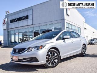 Used 2014 Honda Civic EX | ALLOYS | HEATED SEATS | SIDE CAM | SUNROOF for sale in Mississauga, ON