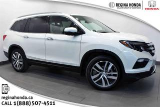 Used 2017 Honda Pilot V6 Touring 9AT AWD Touring, 9 Speed Transmission, DVD for sale in Regina, SK