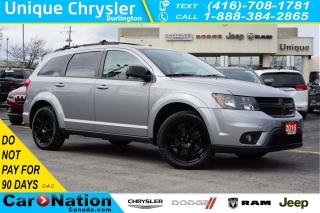 Used 2016 Dodge Journey BLACKTOP| 7-SEATER| HTD SEATS| REMOTE START & MORE for sale in Burlington, ON