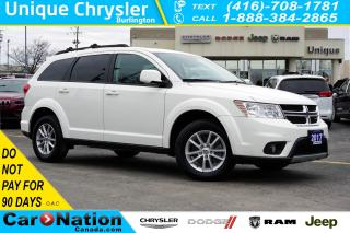 Used 2017 Dodge Journey SXT| NAV| DVD| REAR CAM| SUNROOF| ALPINE SOUNDS for sale in Burlington, ON