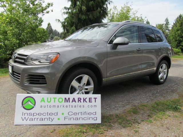 Used 2012 Volkswagen Touareg EXECLINE, NAVI, INSP, BCAA