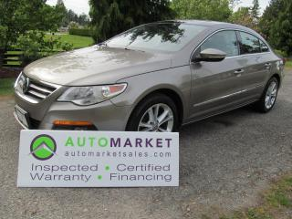 Used 2011 Volkswagen Passat CC HIGHLINE, INSP, BCAA MBSHP, WARR & FINANCING! for sale in Surrey, BC