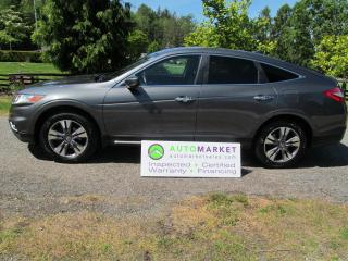 Used 2013 Honda Accord Crosstour EX-L NAVI,V-6 4WD, BCAA MBSHP, INSP, WARR, FINANCING for sale in Surrey, BC