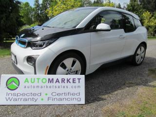Used 2014 BMW i3 RANGE EXTENDER, NAVI, BCAA MBSHP, WARR, FINANCE for sale in Surrey, BC