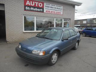 Used 1998 Toyota Tercel for sale in St-Hubert, QC