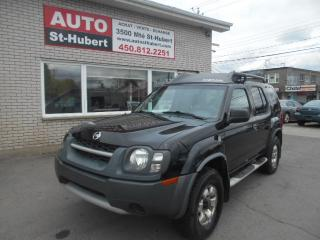 Used 2003 Nissan Xterra for sale in St-Hubert, QC