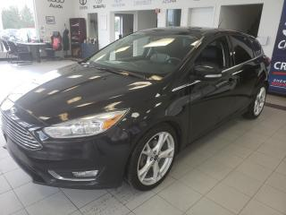 Used 2015 Ford Focus TITANIUM / CUIR / BLUETOOTH / MAG for sale in Sherbrooke, QC