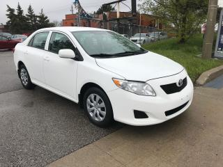 Used 2010 Toyota Corolla P/WINDOWS,AUTO,SAFETY+3YEARS WARRANTY INCLUDED for sale in Toronto, ON