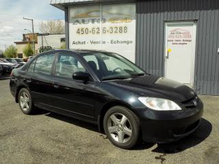 Used 2005 Honda Civic ***LX-G,AIR CLIM,TOIT OUVRANT,GROUPE ELE for sale in Longueuil, QC