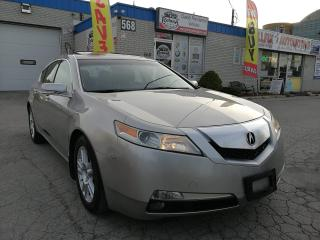 Used 2010 Acura TL Accident Free_Ontario Vehicle_Sunroof_Leather for sale in Oakville, ON