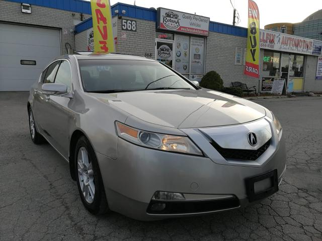 2010 Acura TL Accident Free_Ontario Vehicle_Sunroof_Leather