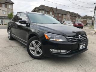 Used 2012 Volkswagen Passat Highline|Accident free|Navi|Leather|Sunroof| for sale in Burlington, ON