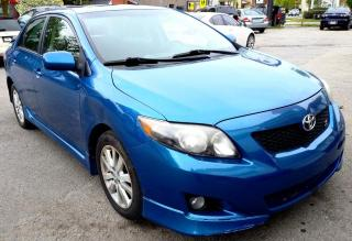 Used 2010 Toyota Corolla S 5-Speed MT for sale in St. Catharines, ON
