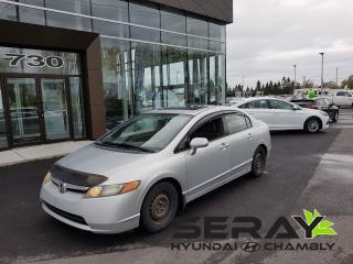 Used 2008 Honda Civic Lx Sunroof, Mags for sale in Chambly, QC