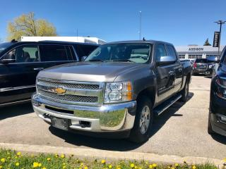 Used 2013 Chevrolet Silverado 1500 Cheyenne Crew Cab Short Box 4WD 1SF 4x4|Bluetooth| for sale in Mississauga, ON