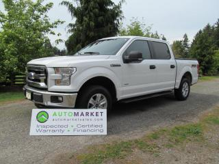 Used 2015 Ford F-150 FX4 CREW 4X4 E/BOOST INSP, BCAA MBSHP WARR FINANCE for sale in Surrey, BC