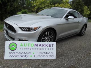 Used 2017 Ford Mustang LX E/BOOST AUTO WARRANTY FINANCING! for sale in Surrey, BC