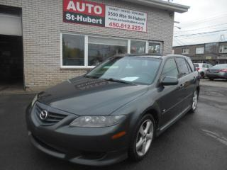 Used 2004 Mazda MAZDA6 Sport GT for sale in St-Hubert, QC