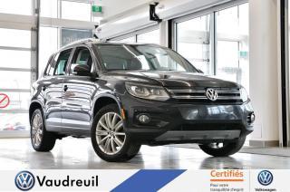 Used 2014 Volkswagen Tiguan Comfortline 4motion *** Réservé *** for sale in Vaudreuil-Dorion, QC