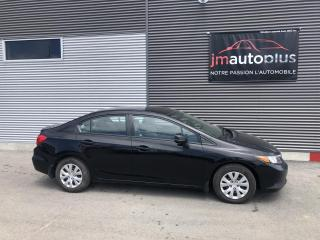 Used 2012 Honda Civic LX 4 portes, boîte automatique for sale in Québec, QC