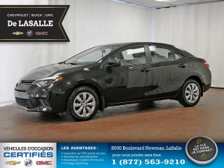 Used 2016 Toyota Corolla CE for sale in Lasalle, QC