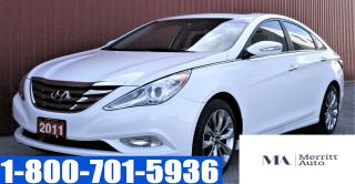 Used 2011 Hyundai Sonata Limited w/Nav/ LEATHER/ CERTIFIED for sale in London, ON