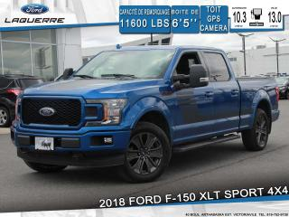 Used 2018 Ford F-150 Xlt Sport 4x4 Gps for sale in Victoriaville, QC