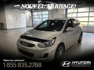 Used 2014 Hyundai Accent GL + GARANTIE + MAGS + BLUETOOTH + CRUIS for sale in Drummondville, QC