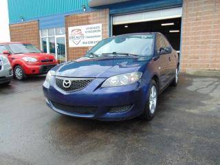 Used 2004 Mazda MAZDA3 Berline 4 portes GS boîte automatique for sale in St-Eustache, QC