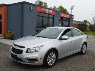 Used 2015 Chevrolet Cruze 1LT|BLUETOOTH|BACKUP CAMERA for sale in St. Thomas, ON