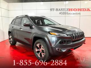 Used 2014 Jeep Cherokee Trailhawk for sale in St-Basile-le-Grand, QC