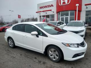 Used 2014 Honda Civic LX ***BLUETOOTH***CRUZE CONTROL*** for sale in Donnacona, QC