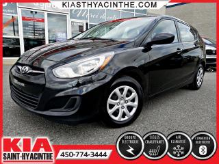 Used 2014 Hyundai Accent GL ** SIÈGES CHAUFFANTS + A/C for sale in St-Hyacinthe, QC