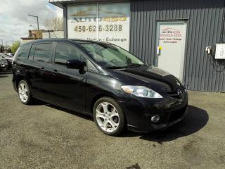 Used 2010 Mazda MAZDA5 ***GT,CUIR,TOIT,MAGS,AUTOMATIQUE*** for sale in Longueuil, QC