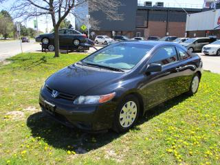 Used 2006 Honda Civic DX ~ LOW KM ~ SAFETY INCLUDED for sale in Toronto, ON